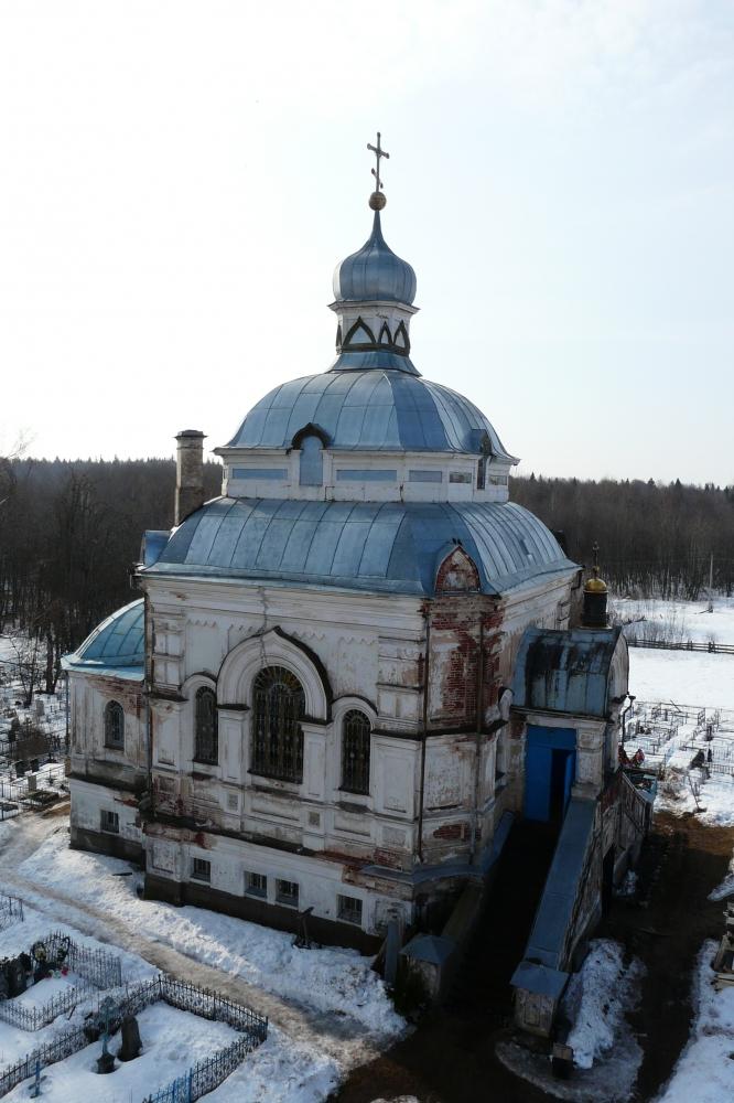 Георгиевская церковь с. Матвеево. Фото Д. Ивлева