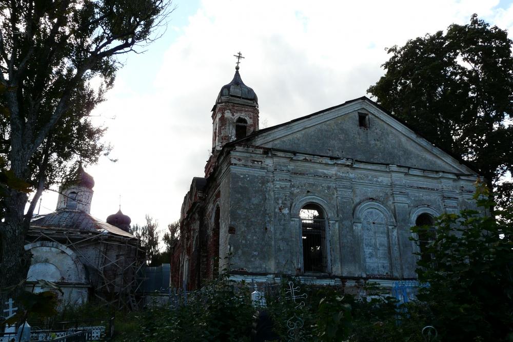 Ильиснкая церковь с. Георгиевское близ Бирючёва