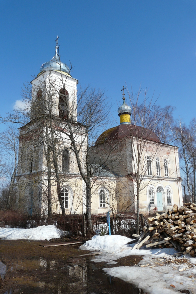 Преображенская церковь с. Матвеево в наши дни. Фото Д.М. Ивлева